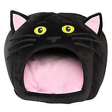Thrills & Chills™ Halloween Cat Hut Pet Bed